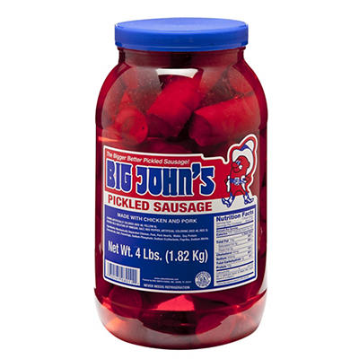 Big John's Picked Sausage, 4 lbs.