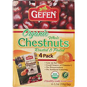 Gefen Organic Whole Chestnuts, 4 pk./5.2 oz.