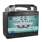Sealy Cool and Clean Twin XL Bedroom Makeover Bundle