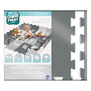 Gelli Mat 58-Pc. Comfort Bumper Foam Floor Tiles - Neutral Calm