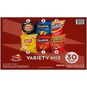 Frito-Lay Variety Mix of Chips and Snacks, 30 ct.