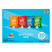SunChips Snacks Variety Pack, 30 ct.