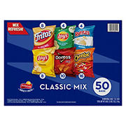 Frito-Lay Classic Mix Variety Pack, 50 ct.