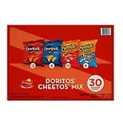 Frito-Lay Doritos and Cheetos Variety Pack, 30 ct.