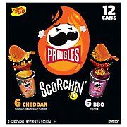 Pringles Scorchin Variety Pack, 12 ct.