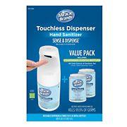 Sense & Dispense Touchless Hand Sanitizer Dispenser with Refills