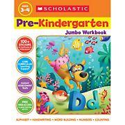 Scholastic Jumbo Workbook PreKindergarten