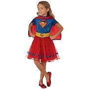 Rubie's Girls Superhero Costume - Supergirl Small
