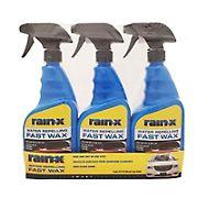 Rain‑X Water Repelling Fast Wax, 23 oz./3 pk.