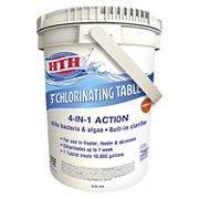 """HTH 3"""" Chlorine Tablets for Swimming Pools, 30 lbs."""