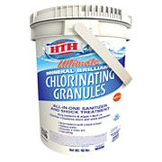 HTH Ultimate Chlorinating Granules - All-in-One Sanitizer and Shock Treatment, 40 lbs.