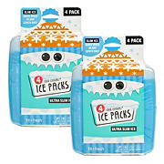 Fit and Fresh Cool Coolers Multicolor Ice Pack, 8 pk.