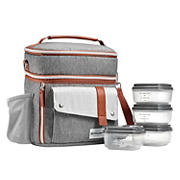 Fit and Fresh Wickenden Bag - Steel