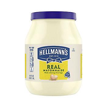 Hellmann S Real Mayonnaise 64 Oz Bjs Wholesale Club