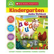 Scholastic Jumbo Workbook Kindergarten