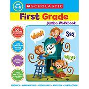 Scholastic Jumbo Workbook Grade 1