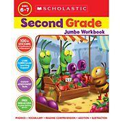Scholastic Jumbo Workbook Grade 2
