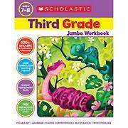 Scholastic Jumbo Workbook Grade 3