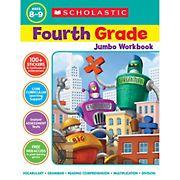 Scholastic Jumbo Workbook Grade 4