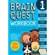 Brain Quest Workbook: 1st Grade: A Whole Year of Curriculum-Based Exercises and Activities in One Fun Book!