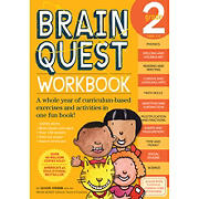 Brain Quest Workbook: 2nd Grade: A Whole Year of Curriculum-Based Exercises and Activities in One Fun Book!