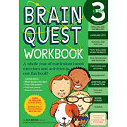 Brain Quest Workbook: 3rd Grade: A Whole Year of Curriculum-Based Exercises and Activities in One Fun Book!