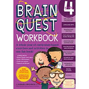 Brain Quest Workbook: 4th Grade: A Whole Year of Curriculum-Based Exercises and Activities in One Fun Book!