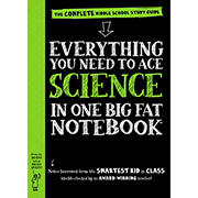 Everything You Need to Ace Science in One Big Fat Notebook: The Complete Middle School Study Guide