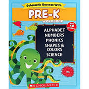 Scholastic Success With Pre-K Workbook