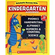 Scholastic Success With Kindergarten Workbook