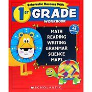 Scholastic Success With 1st Grade Workbook