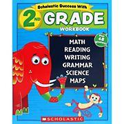 Schoastic Success With 2nd Grade Workbook