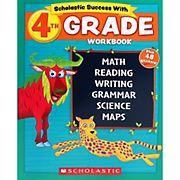 Schoalstic Success With 4th Grade Workbook