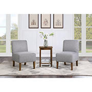Northridge Home Torres 3-Pc. Chair & Table Set