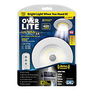 Over Lite Ultra 3X Motion Activated Ceiling/Wall Light