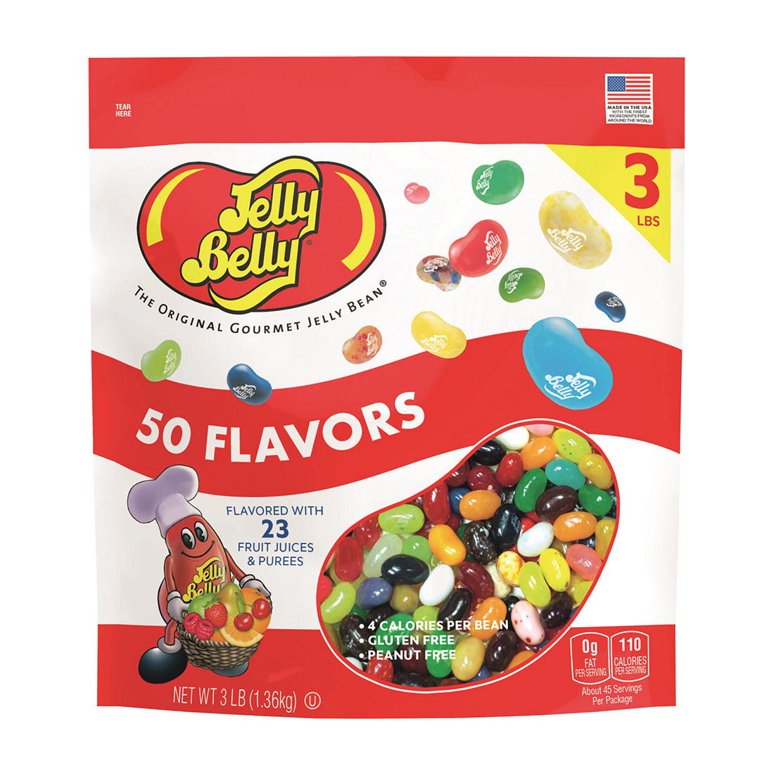 Cool Jelly Belly 50 Flavor Gourmet Jelly Beans 3 Lbs Short Links Chair Design For Home Short Linksinfo