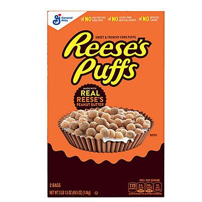 General Mills Reese's Peanut Butter Puffs, 49.5 oz.