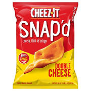 Cheez-It Snapd Double Cheddar, 20 oz.
