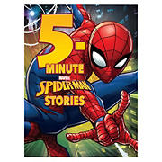 5-Minute Spiderman Stories