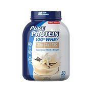 Pure Protein 100% Whey Vanilla, 4 lbs.