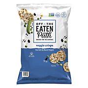 Off The Eaten Path Sea Salt and Black Pepper Veggie Crisps Snacks, 19 oz.
