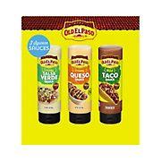 Old El Paso Taco Sauce Variety Pack, 3 ct.