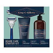 King C. Gillette Shave Care for Men Beard Care Starter Set