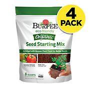 Burpee eco*friendly Natural & Organic Seed Starting Mix, 4 pk/8 qt.