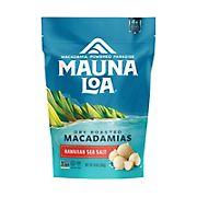 Mauna Loa Dry Roasted Macadamia Nuts with Hawaiian Sea Salt, 10 oz.