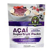 Sambazon Organic Acai Superfruit Packs - Original Blend, 8 ct.