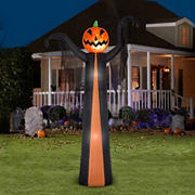 Gemmy Airblown Pumpkin Reaper with Projection