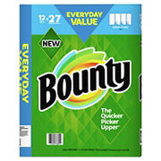 Bounty Select-A-Size Bulk Rolls Paper Towels, White, 12 ct.