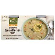 Panera Greek Style Lemon Chicken Soup, 2 ct.