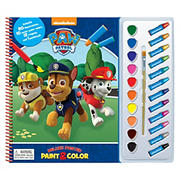 Paw Patrol Deluxe Poster Paint & Color
